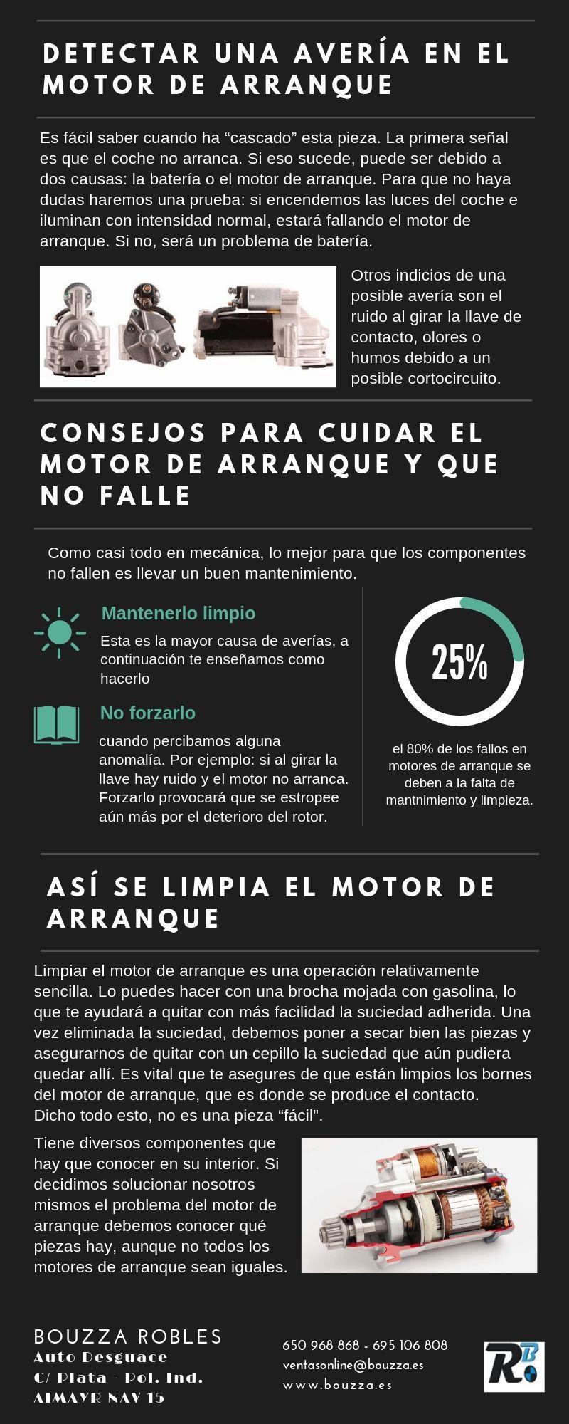 El mantenimiento preventivo es la clave para evitar fallos en tu motor de arranque